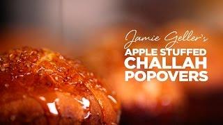 Apple Stuffed Challah Popovers