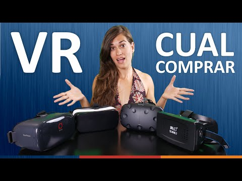 MEJORES GAFAS DE REALIDAD VIRTUAL | Android, PC, Oculus, Playstation VR, HTC VIVE