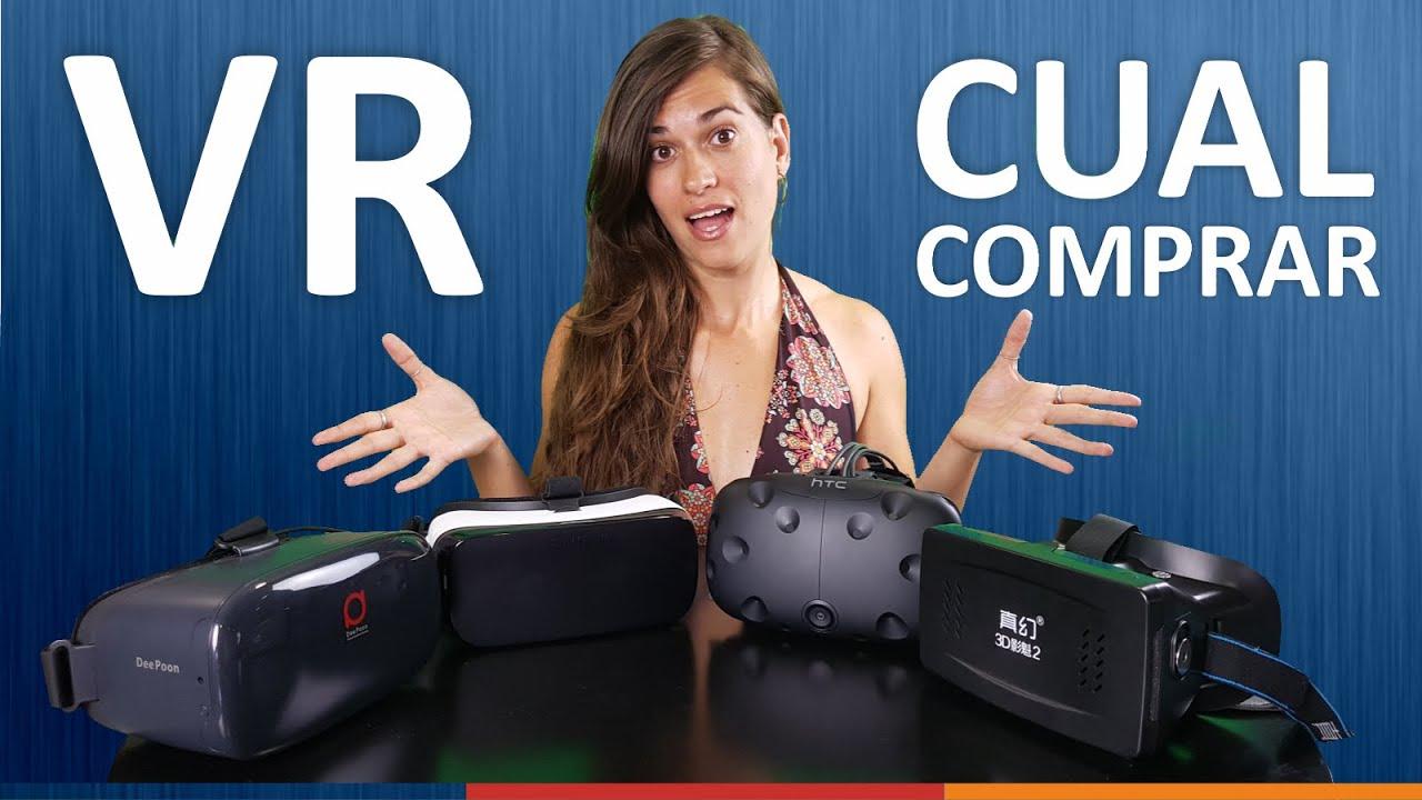 bddf7813ec MEJORES GAFAS DE REALIDAD VIRTUAL | Android, PC, Oculus, Playstation VR,  HTC VIVE