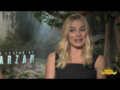 The Legend Of Tarzan: Cast Interviews