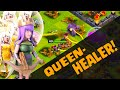 Clash of Clans Attack Strategy - The Queen Healer is BACK!?