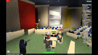 Meeting Turns Into A Riot [ROBLOX] (Part 1)