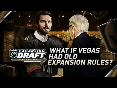 WHAT IF VEGAS USED OLD EXPANSION DRAFT RULES? - NHL 18