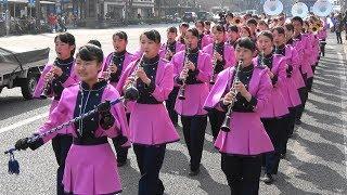 出雲商業高校吹奏楽部 第17回さくらパレード「4k」