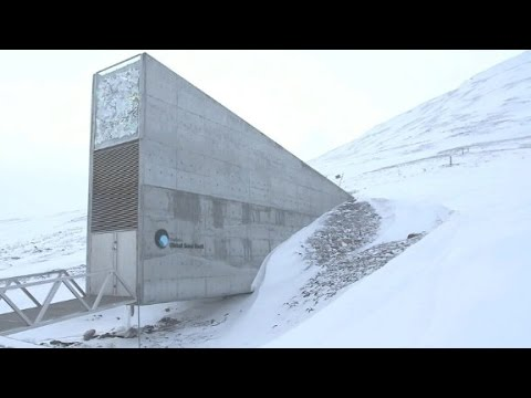 See inside the Doomsday seed vault