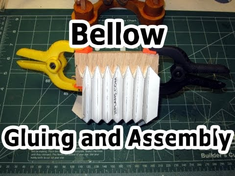 Bellow Gluing and Assembly