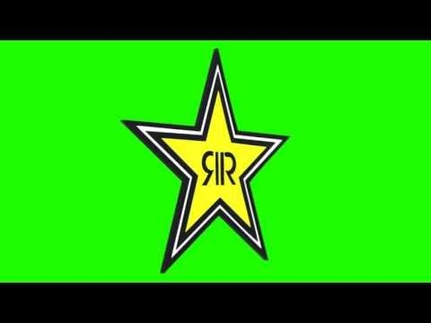 rockstar energy drink logo chroma