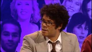 David Mitchell and Richard Ayoade analyse a bad joke - Channel 4 Big Fat Anniversary Quiz thumbnail