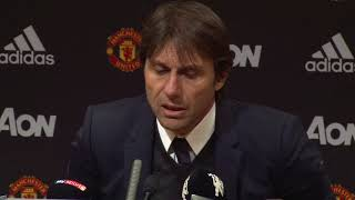 Conte defends 'tactical' decision to withdraw Hazard