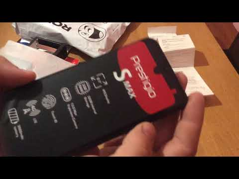 Распаковка и обзор мобильного телефона PRESTIGIO S MAX 7610 Duo от Rozetka.ua