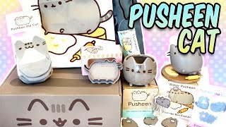 Pusheen Cat Box April 2016 - Kawaii Subscription Box Unboxing - So much Official Merch Cuteness!! thumbnail