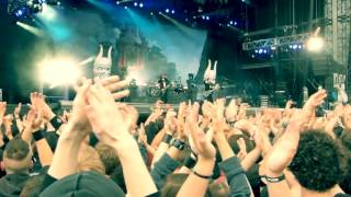 Trivium In Waves  Download festival Paris 2016 HD