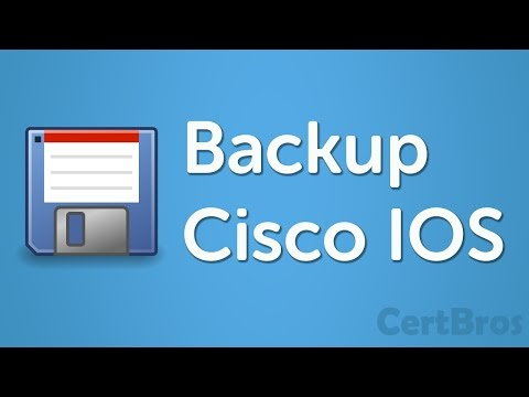 How to Copy Cisco IOS to TFTP Server - YouTube