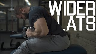 How To Get Wider Lats | Back Width Workout