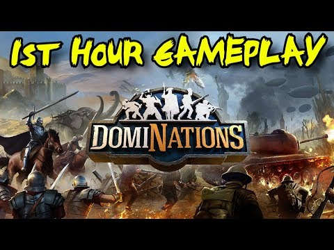 DomiNations 1st Hour Gameplay Walkthrough: Growing & Leading A Mighty Nation!