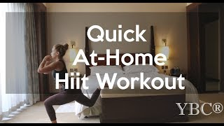 Travel Workout: Quick Hiit Workout