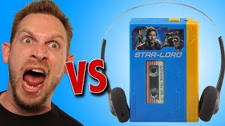 Guardians of the Galaxy Walkman MP3 Player Unboxing