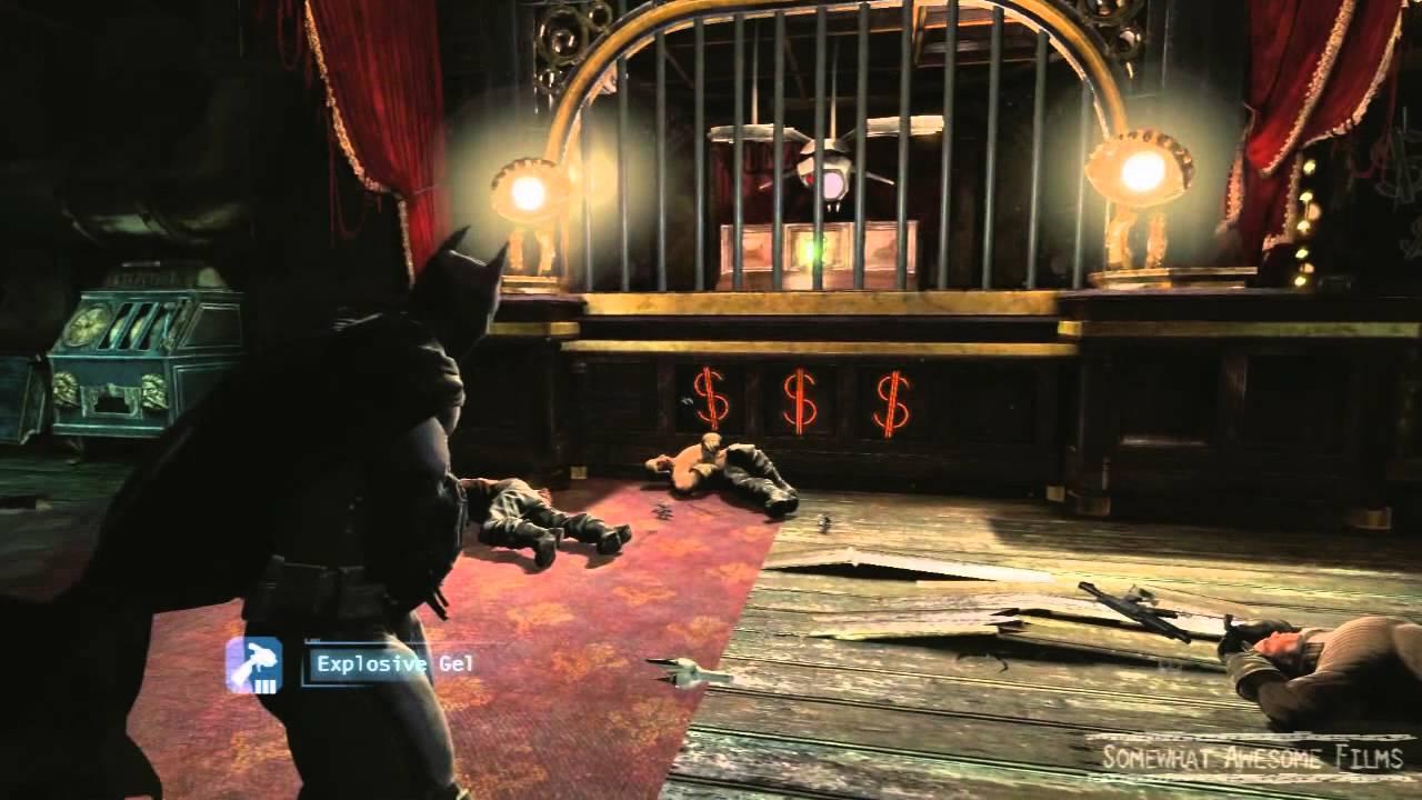 Прохождение batman arkham origins казино игровые автоматы alien
