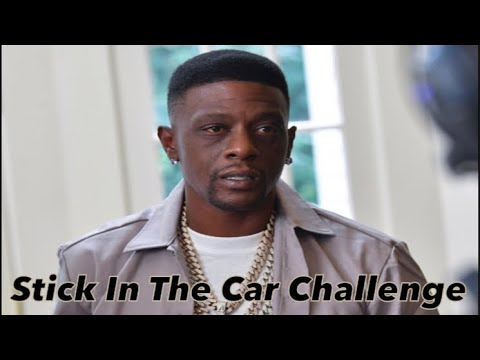 "The Boosie Badazz ""Stick In The Car Challenge"" Is A Bad Idea"