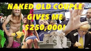 NAKED OLD COUPLE GIVES ME $250,000 STORYTIME - Getting investors GONE BAD - Sunday Storytime Videos