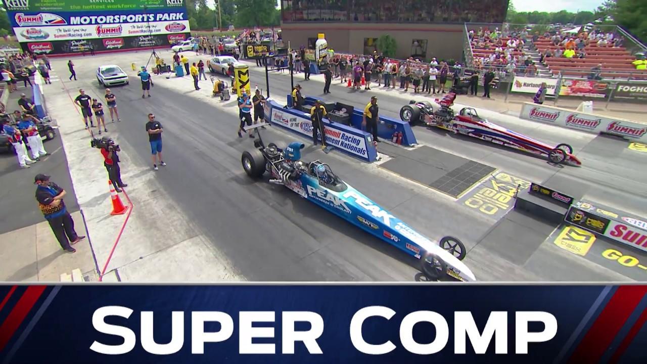 2018 Summit Racing Equipment Nationals Super Comp winner Dan Fletcher