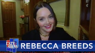 """Dr. Lecter, Dr. Lecter, Dr. Lecter"" - Rebecca Breeds On How She Gets Into Her Appalachian Accent"
