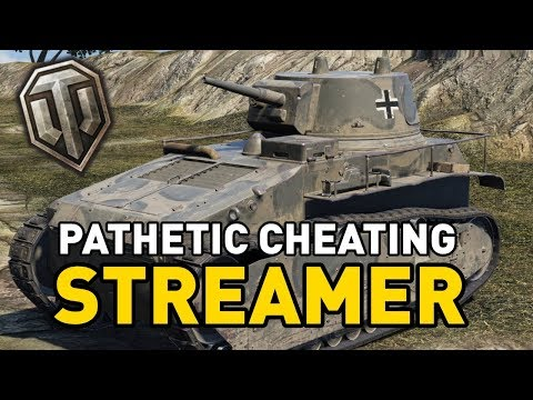 World of Tanks || PATHETIC CHEATING STREAMER!