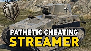 One of QuickyBaby's most viewed videos: World of Tanks || PATHETIC CHEATING STREAMER!