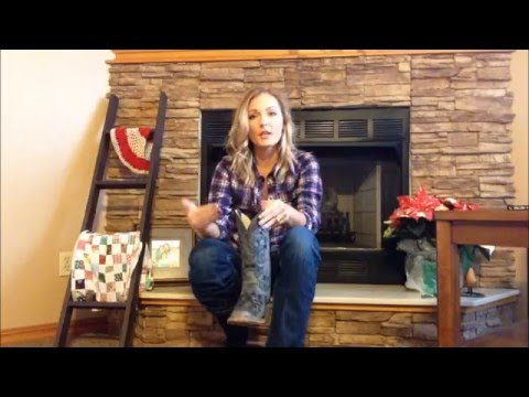 Farm Girl Friday #8 How To Wear Cowgirl Boots With Fused Ankles