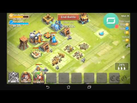 Castle Clash - Age Of Legends Gameplay [Town Hall]