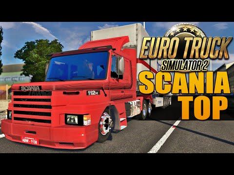 Scania TOP - Euro Truck Simulator 2: Euro Truck Simulator 2 - Scania 112H TOP  ➨ Vídeo Novo: Maior Caminhão do Mundo - http://youtu.be/5ZSrahb7tVQ  Mais de Euro Truck 2 - Serra Perigosa - http://youtu.be/Jdq6-fHOnAQ - Cegonha Brasileira - http://youtu.be/gXm_SkNMipk - Scania 113H Rebaixada - http://youtu.be/9yQu8JAgQ0o  - Download Mod - http://goo.gl/LdI4rf  Twitter - https://twitter.com/DuduMoura_Ex Facebook - https://www.facebook.com/DuduMouraEx Google Plus - https://plus.google.com/+DuduMouraEx  EXETRIZE Twitter - https://twitter.com/Exetrize Facebook - https://www.facebook.com/Exetrize