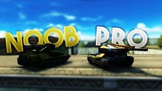 Tanki Online Pro vs Noobs! №1 (Funny Video)