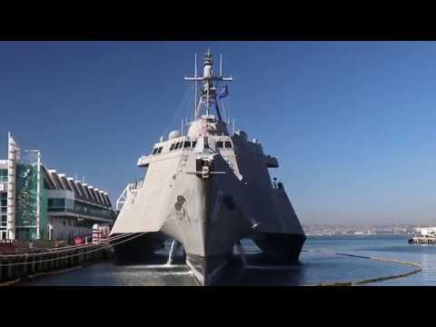 USS OMAHA LCS-12: Visiting The Naval Combat Ship (Newly Commissioned On 2/3/18)