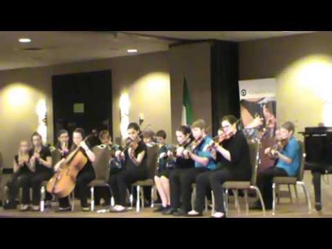 Academy of Irish Music - Young Group @ Midwest Fleadh 2013