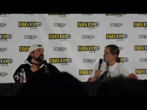 Jay and Silent Bob panel @ Boston Comic Con 2017 Kevin Smith, Jason Mewes