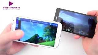 Сравнение Sony Xperia Z и Samsung Note 2. Sony Смартфон как Выбрать