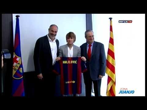 Alen Halilovic firma con el FC Barcelona hasta el 2019