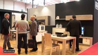 BaixModuls presenta sus salones, dormitorios y armarios en la Feria del Mueble de Zaragoza