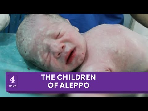 Children of Aleppo: the baby born in a barrel bomb attack