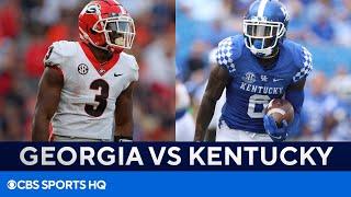No. 11 Kentucky at No. 1 Georgia   SEC Super Preview   CBS Sports HQ