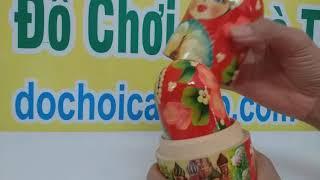 Đồ Chơi Búp Bê Nga 5 con - dochoicaocap.com