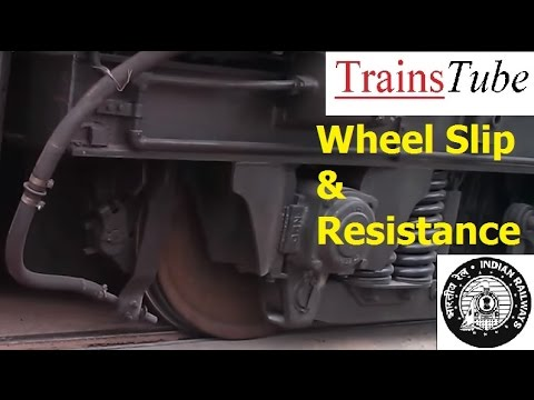 Train WHEEL SLIP & Slip Resistance - Indian Railways