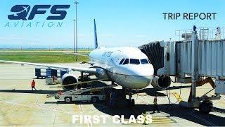 TRIP REPORT | United Airlines - A320 - Sacramento (SMF) to Denver (DEN) | First Class