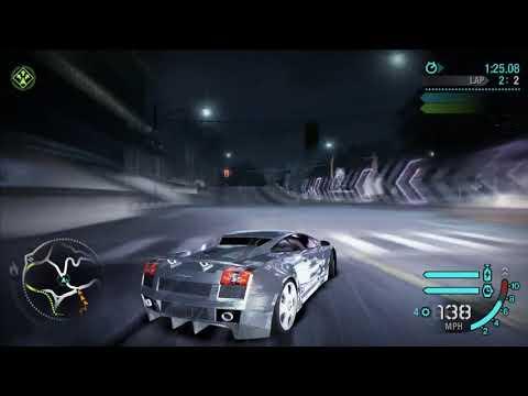 Need For Speed Carbon - Quick Race Circuit - Lamborghini Gallardo Prata