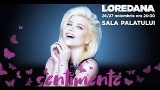 Loredana - Sentimente ( Live de la Sala Palatului, 26.11.2016)