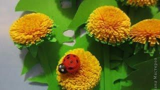 Квиллинг для начинающих_Пушистый цветок(Квииллинг для начинающих. Пушистый цветок Видео-урок по квиллингу (бумагокручению) для новичков на примере..., 2015-03-04T20:35:03.000Z)