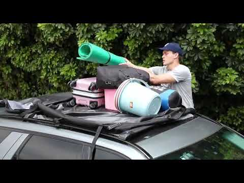 MIDABAO Thickened 20 Cubic Waterproof Duty Car Roof Top Carrier