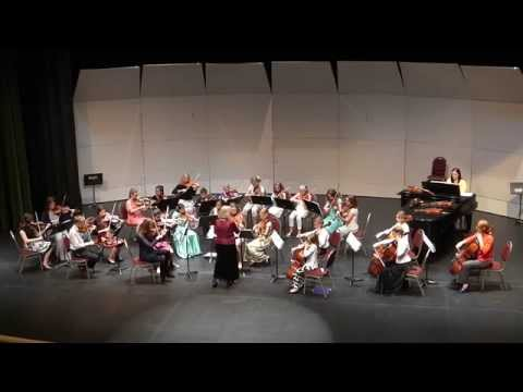 Rigaudon by Henry Purcell - Suzuki String Orchestra