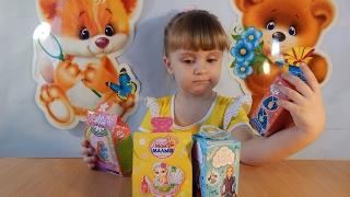 Коробочки с сюрпризами Коробки с игрушками Обзор игрушек Видео для детей