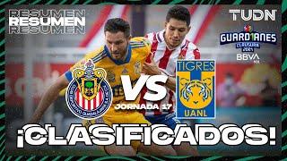 Resumen   Chivas vs Tigres   Torneo Guard1anes 2021 BBVA MX Jornada 17   TUDN